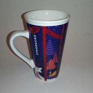 Starbucks 2017 forrest animals ceramic mug